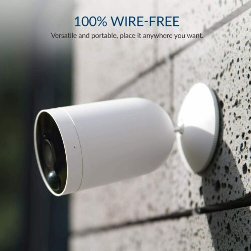 Kami Wire-Free Outdoor Security Camera 1080P Battery Powered Home Surveillance