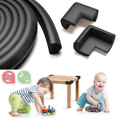 Foam Edge Bumpers (Baby Proofing Edge & Corner Guards 15ft Foam Protector Bumpers Corners Cushion)
