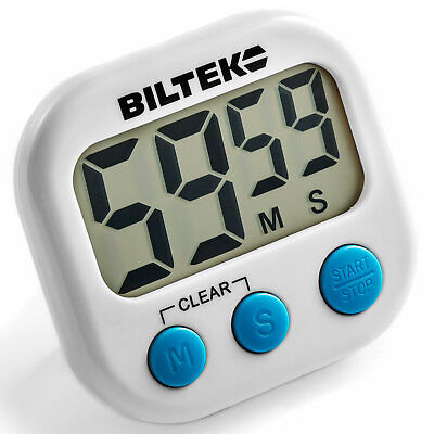 digital alarm timer homework gym workout cooking