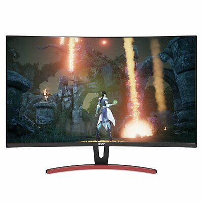 "Acer ED323QUR 31.5"" WQHD Curved 1800R VA Gaming Monitor AMD Freesync 4ms 144Hz"