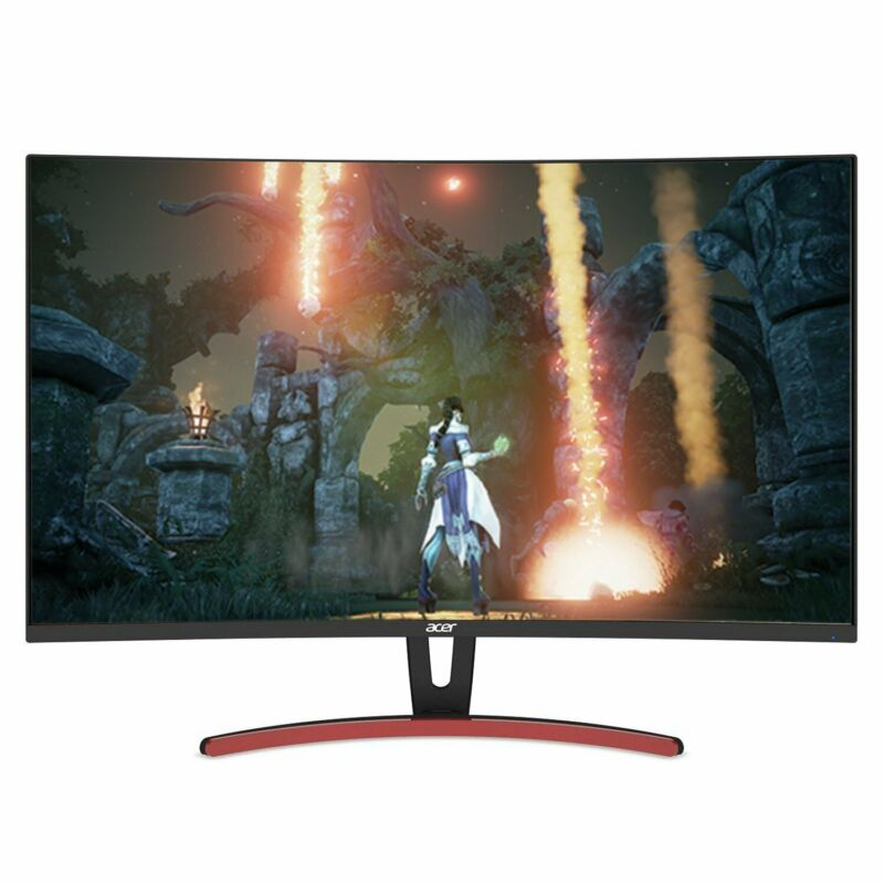 "Acer ED323QUR 31.5"" LED Curved QHD FreeSync Monitor Black UMJE3AAA01"