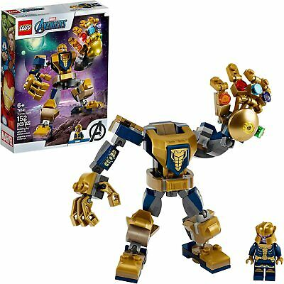 LEGO Marvel Avengers Thanos Mech Cool Action Building Toy for Kids