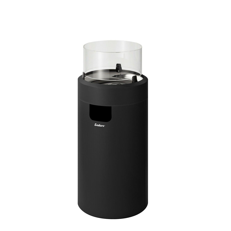 Enders Terrassenfeuer Nova LED M schwarz Heizstrahler Gas Heizpilz