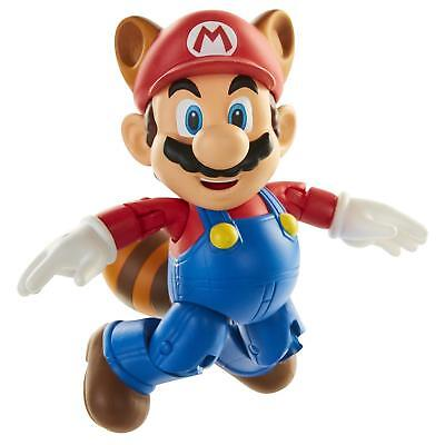 World of Nintendo Toy-Figures Raccoon Mario 4