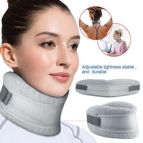 Adjustable Foam Neck Brace Cervical Collar Traction Support Brace Pain Relief US Health & Beauty
