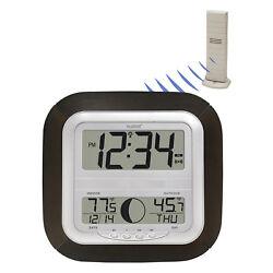 WS-8418U-IT La Crosse Technology Atomic Digital Wall Clock TX37U-IT Refurbished