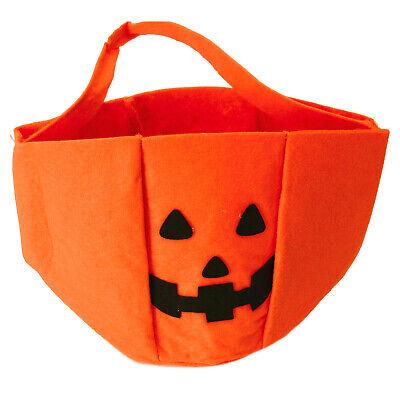 Halloween Süßigkeiten (Korb Halloween Kürbis für Süßigkeiten Halloweenkorb Halloween-Korb 31.10. )