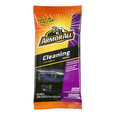 Armor All Cleaning Wipes in a Pouch (20 Count)