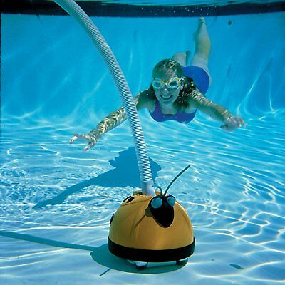 Pool Cleaner Aqua Critter Automatic Above Ground Swimming Bottom Suction Vacuum