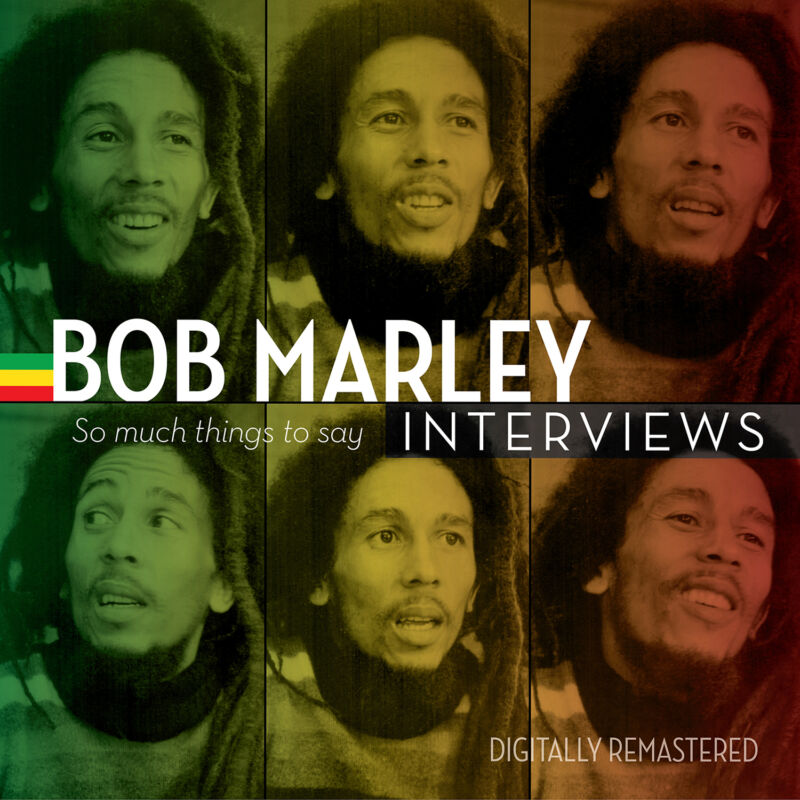 "BOB MARLEY INTERVIEWS THINGS TO SAY 12"" LP COLOR VINYL RECORD STORE DAY RSD 2015"