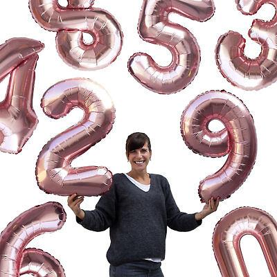 t Zahl Geburtstag Jubiläum Party Deko Ballon - wählbar (Jubiläum Ballon)