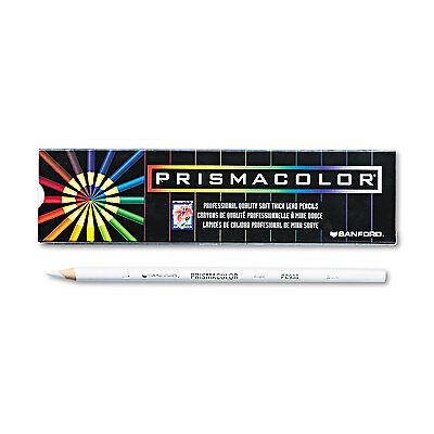 Prismacolor Premier Colored Pencil White Lead/Barrel Dozen 3365