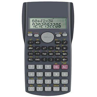 Helect 2-Line Engineering Scientific Calculator, Suitable
