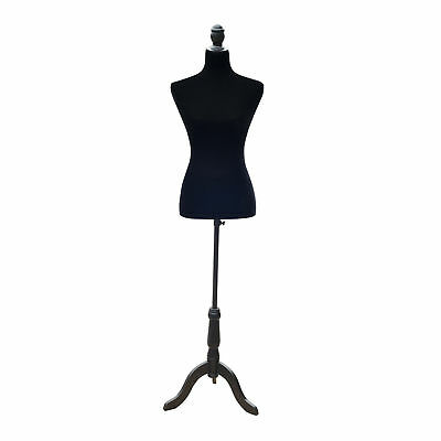 Female Fashion Mannequin Dress Form Torso Dressmaker Stand Clothing Display Bk