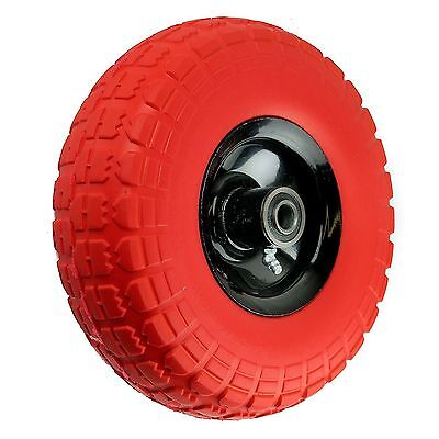 4 Lot Flat Free Hand Truck Wheel 4.103.50-4 Tire 58 Bearing-wffor10