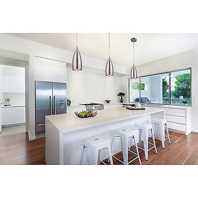 (Kitchen Island Mini Pendant Lighting Fixture Contemporary Ceiling Lamp Nickel )