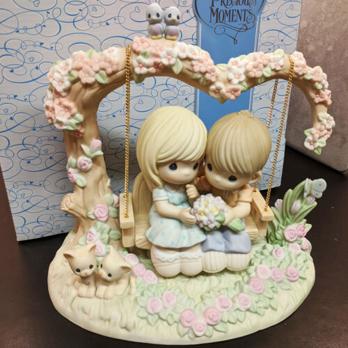NEW Large Precious Moments Celebrating Gift of Life - 30th Anniversary 730031
