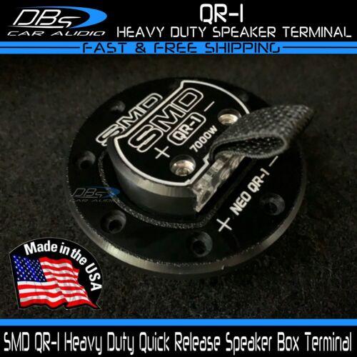 Steve Meade SMD QR 1 Channel Quick Release Subwoofer Speaker Box Terminal Cup