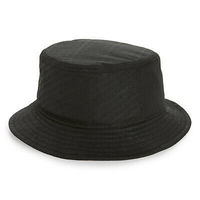 ADIDAS Originals Emboss Bucket Hat Trefoil cap Black logo One Size