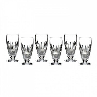 Lismore Iced Beverage (Waterford Lismore Crystal Diamond Iced Beverage Glass Set of 6 - 12 oz )