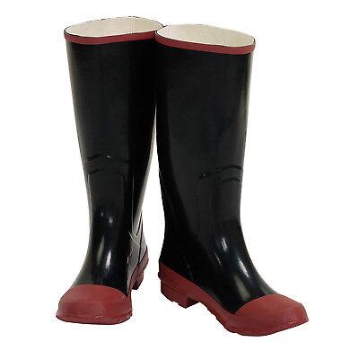 Waterproof Steel Shank Rubber Safety Mens Knee Boots Shoes Size 11 (Mens Waterproof Safety Shoes)