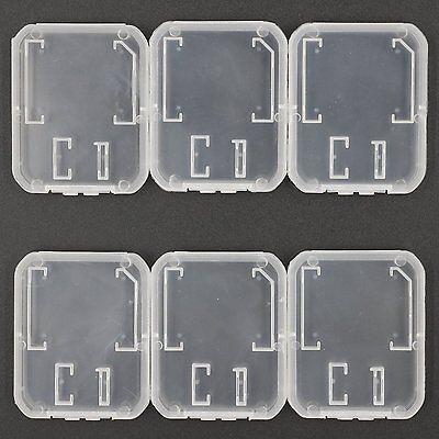 6x Speicherkarte Schutzhülle Box Hülle Etui Aufbewahrungsbox für SD und TF Karte