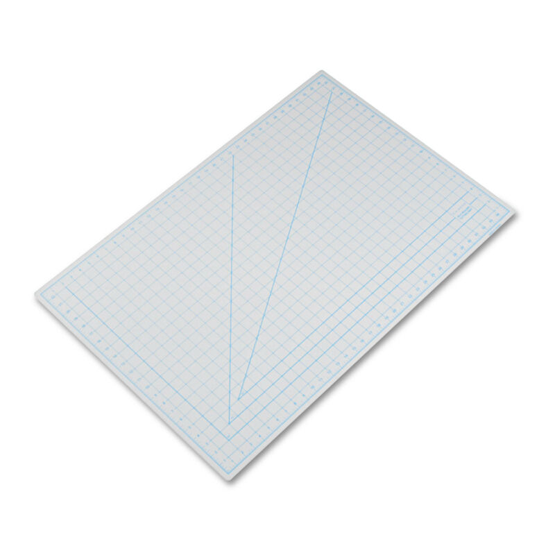 "X-Acto Self-Healing Cutting Mat Nonslip Bottom 1"" Grid 24 x 36 Gray X7763"
