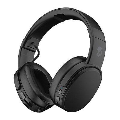 Skullcandy Crusher Bluetooth Wireless Over-Ear Headphones Black