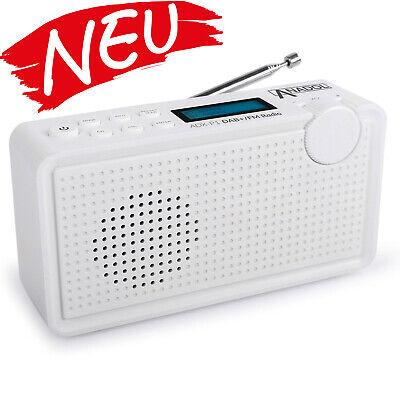 Anadol DAB DAB+ Plus digital Radio weiß UKW FM 20 Senderspeicher -