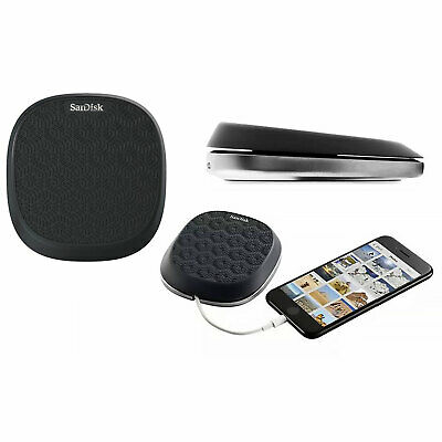SanDisk iXpand Base For iPhone Charging & Backup - Black