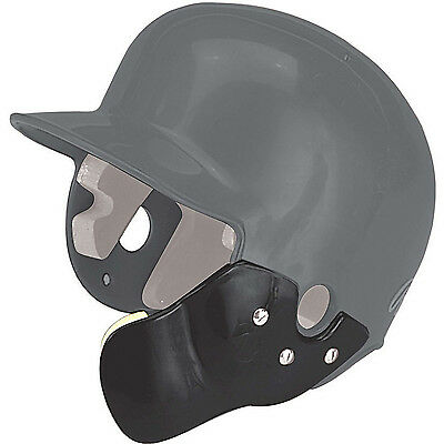 C Flap Batting Helmet FACE Protector GUARD Baseball Softball Right Handed Batter