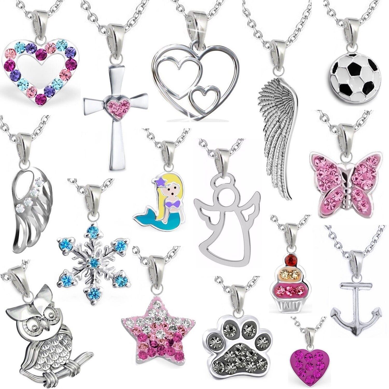 Anhänger Halskette 925er Echt Silber Mädchen, Baby, Kinder, Damen Set⭐️⭐️⭐️⭐️⭐️