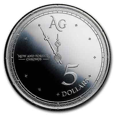2019 Tokelau 1 oz Silver $5 Chronos - SKU#180398