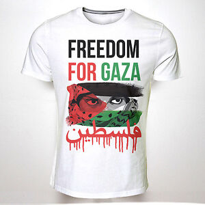 freedom for gaza tshirt palestine free protest charity