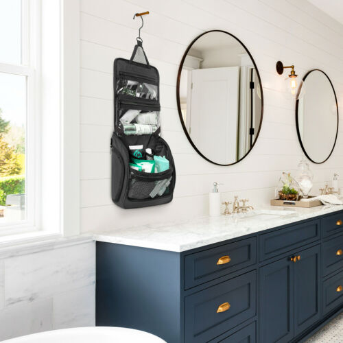 Premium Travel Hanging Toiletry Bag for Men and Women 5