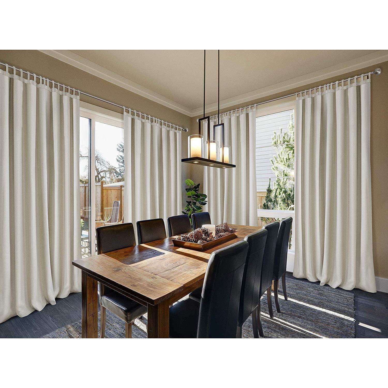 Elrene Home Fashions Indoor/Outdoor Single Panel Window Curt