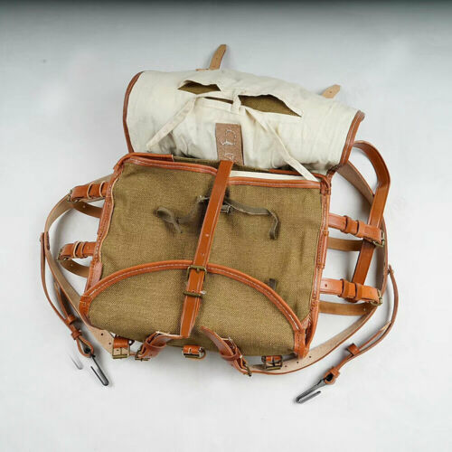 WWII Chinese KMT German Military Bag Field Pack Backpack
