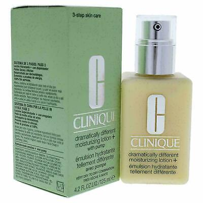 Clinique Dramatically Different Moisturizing Lotion with Pump 4.2 Oz NEW