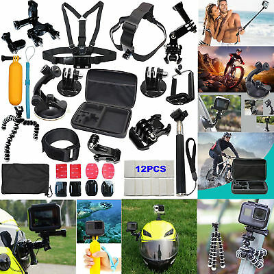 Fr GoPro Hero 7 5 4 6 3 2 Session Accessories Camera Mount suction Cup Stick Kit