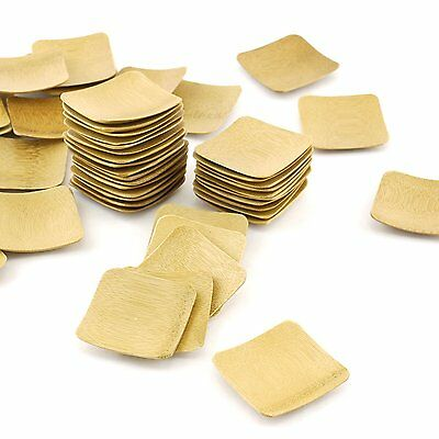 Bamboo Wood Mini Party Plates Square Dish BambooMN Wholesale (Square Party Plates)