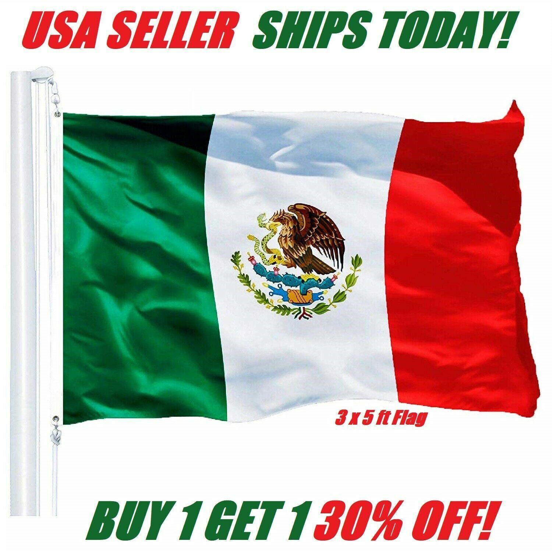 3x5 mexico flag mexican banner pennant bandera