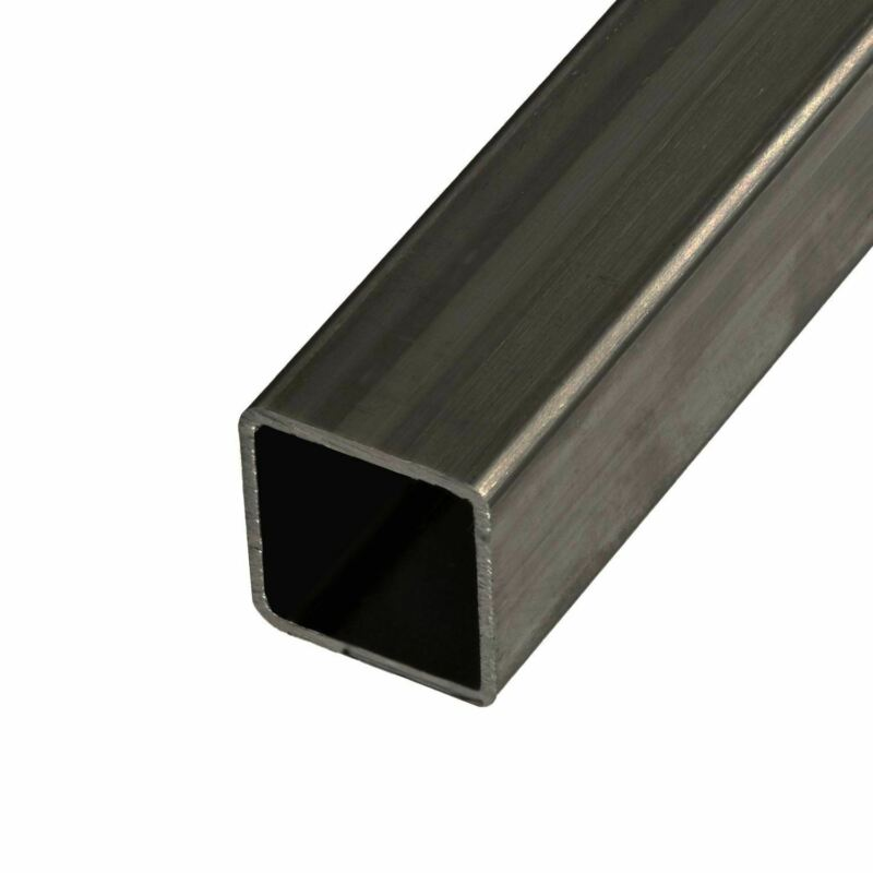 "Steel Mechanical Square Tube, 1"" x 1"" x 0.083 x 18 Feet (3 pcs, 72"" long)"