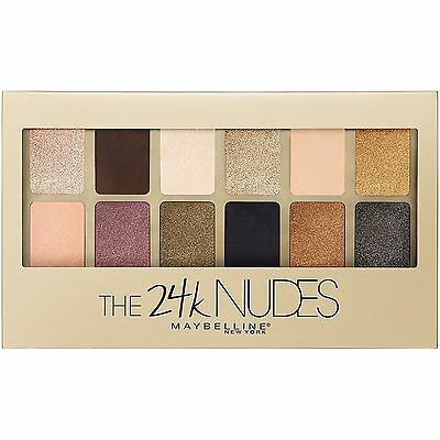 Maybelline The 24K Nudes Eyeshadow Palette SEALED