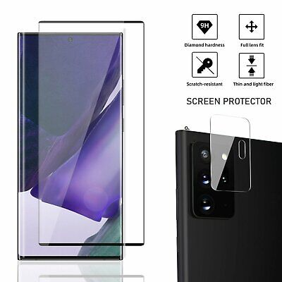 For Galaxy Note 20 Ultra /S20 Tempered Glass Screen Protector /Camera Lens Cover Cell Phone Accessories