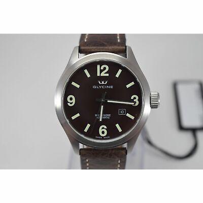 Glycine 3922.1.7-LB7BF Men's INCURSORE Brown Automatic Watch
