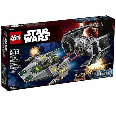 Lego 75150 Vader's TIE Advanced vs A-Wing Starfighter, Star Wars, New and Sealed