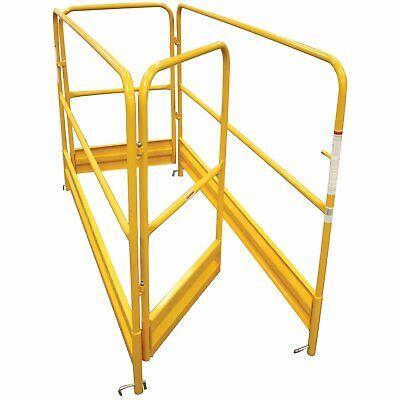 Guardrail Set For Multipurpose Baker-style 6 Ft Scaffolding