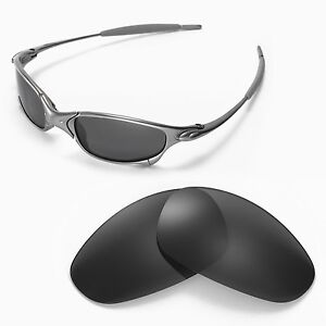 New-Walleva-Polarized-Black-Lenses-For-Oakley-Juliet