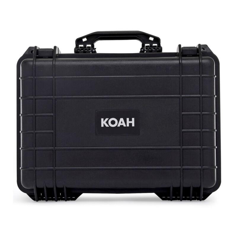Koah Weatherproof Hard Case with Customizable Foam (18 x 14 x 7 Inch)