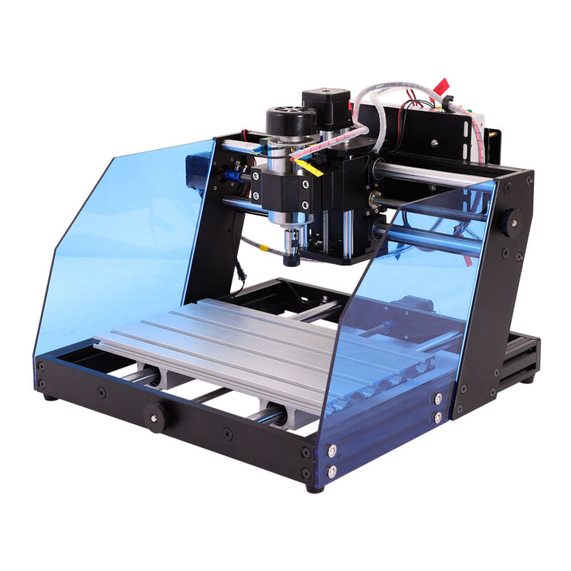 300W CNC Router 3020 Engraving Milling Device DIY Woodwork + 42 Stepper Motor